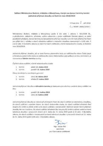 Fikejs - prijimaci-rizeni_terminy-jednotne-zkousky_2019-1.pdf